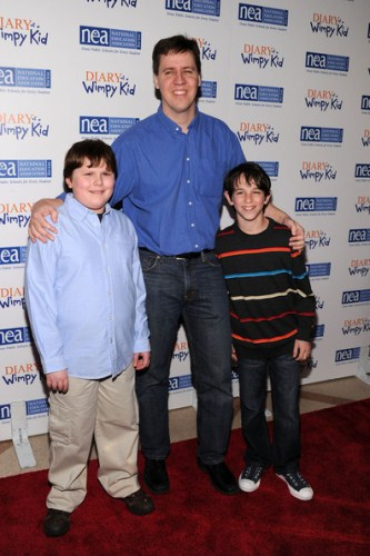 Jeff Kinney  in a Premiere