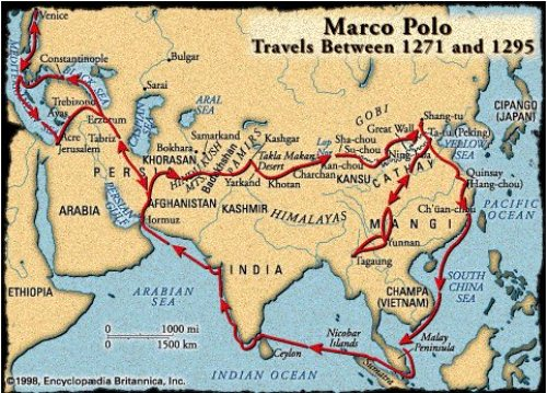 Marco Polo Travels 10 Interesting Marco Polo Facts