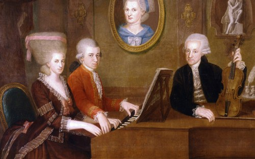 Mozart with Family