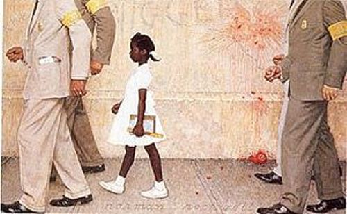 Ruby Bridges Painting