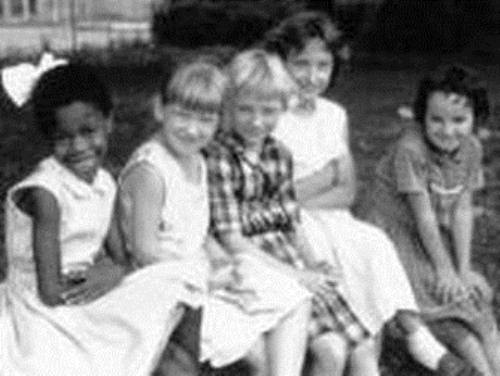 Ruby Bridges at School