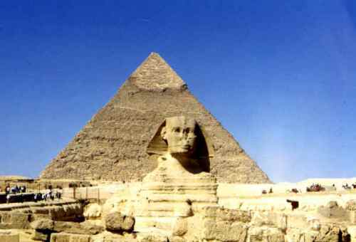 Sphinx and Pyramid 10 Interesting Pyramid Facts