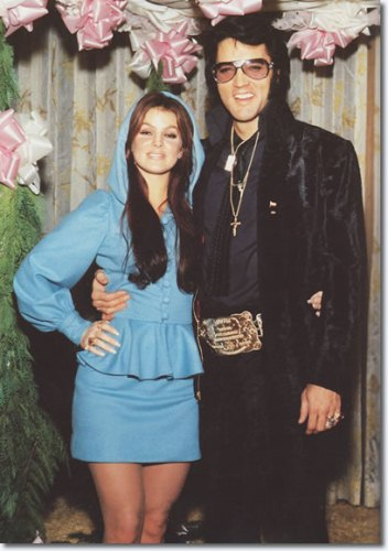 elvis and priscilla 10 Interesting Elvis Presley Facts