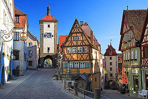 10 interesting german facts my interesting facts - Rothenburg ob der tauber alemania ...