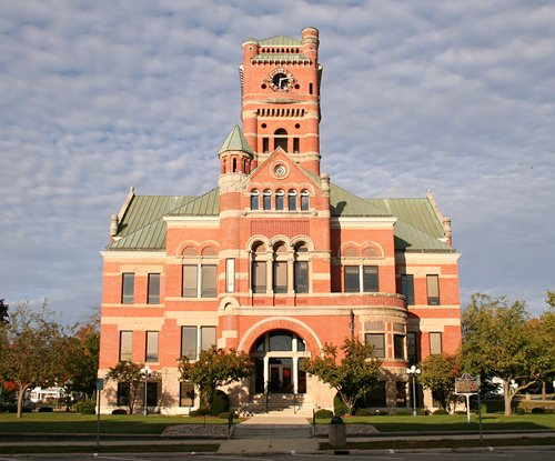 Albion indiana courthouse