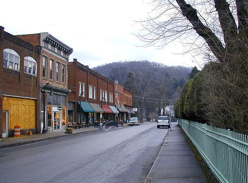 West Virginia Downtown
