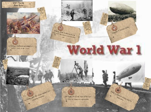 What role did socialism and communism play in the First World War?