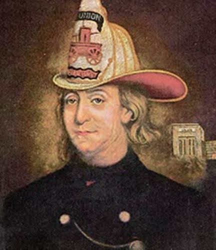 Benjamin Franklin Fire Man