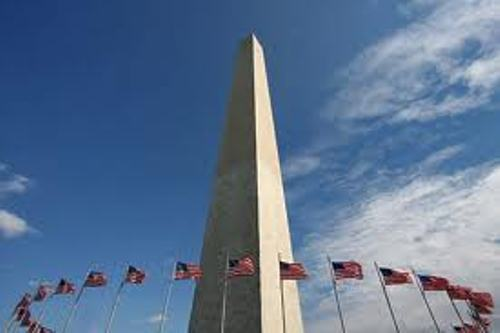 Washington Monument with Flags 10 Interesting Washington Monument Facts