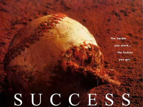 baseball success