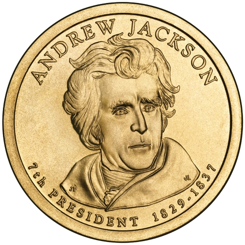 Andrew Jackson coin