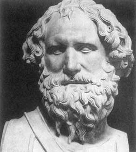 Archimedes statue