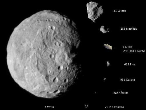 cool asteroid pictures - photo #39