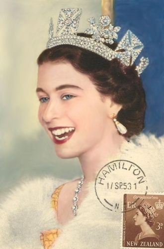 Queen Elizabeth II Young