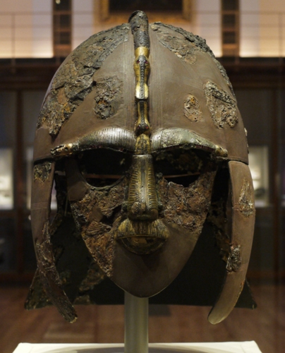 Anglo Saxons Helmet 10 Interesting Anglo Saxons Facts