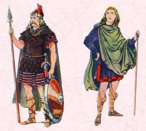 Anglo Saxons warrior 10 Interesting Anglo Saxons Facts