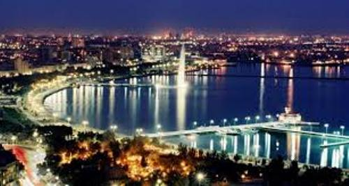 Azerbaijan at night