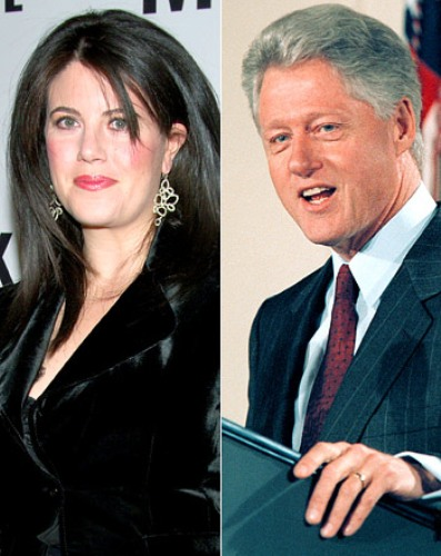 Bill Clinton  and Lewinsky