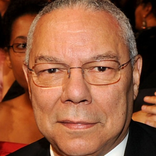 Colin Powell Close Up