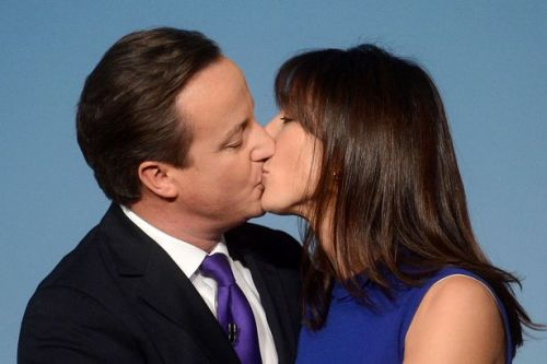 David Cameron and Wife