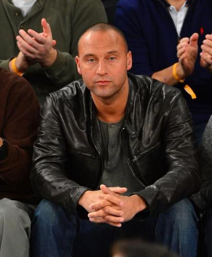 Derek Jeter Without Uniform