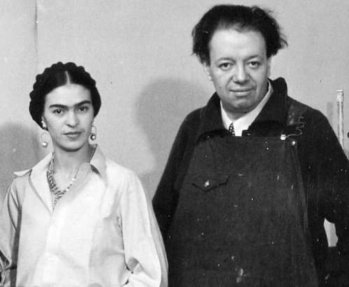 Diego Rivera and Kahlo