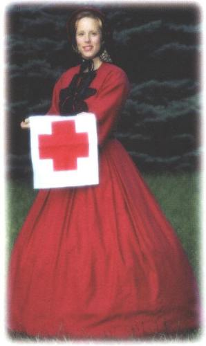 Mary Ann Jung as Clara Barton