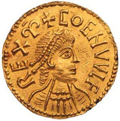 gold coin 10 Interesting Anglo Saxons Facts