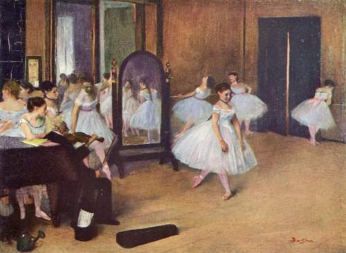 Edgar Degas facts