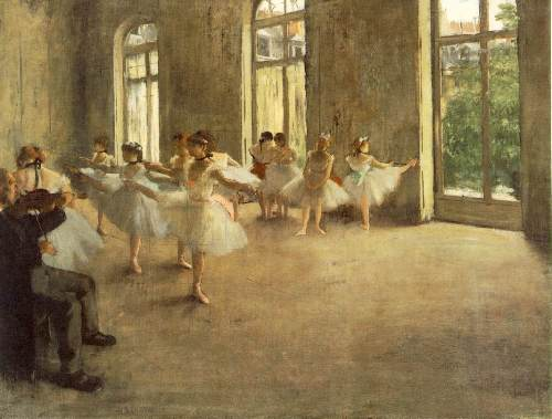 Edgar Degas's Work