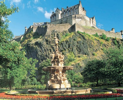 Edinburgh castle facts