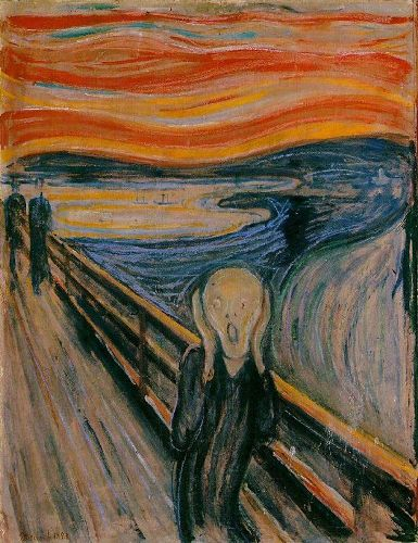 Edvard Munch The scream 10 Interesting Edvard Munch Facts