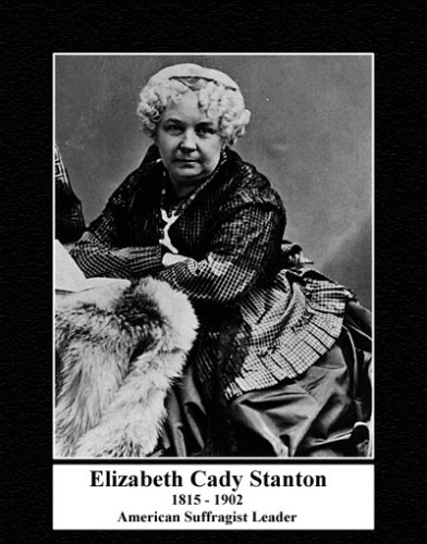 Elizabeth Cady Stantons Book 10 Interesting Elizabeth Cady Stanton Facts