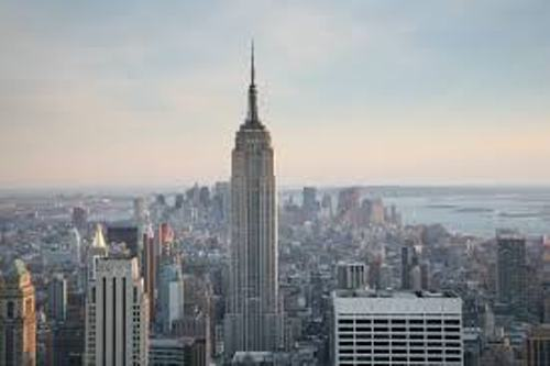Empire State Building in US