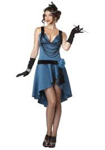 Flapper in Blue