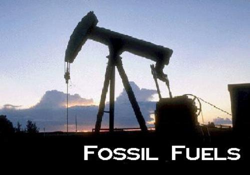 Fossil fuels oil