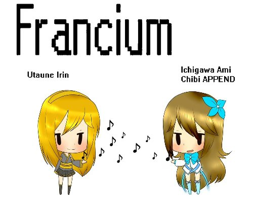 Francium Cartoon