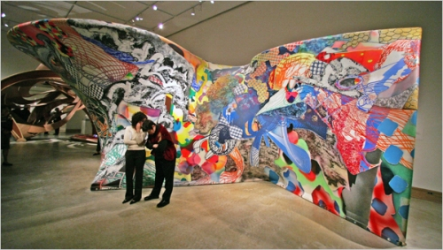 Frank Stella Exhibition