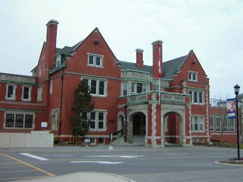French Schools building