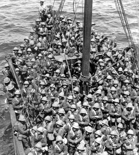 Gallipoli Troops