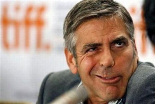 George Clooney face