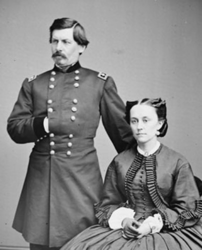 George Mcclellan and Wife