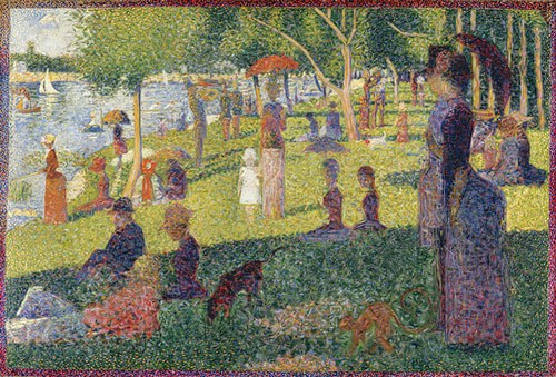 Georges Seurat Painting