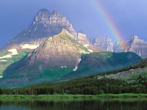 Glacier National Park Rainbow