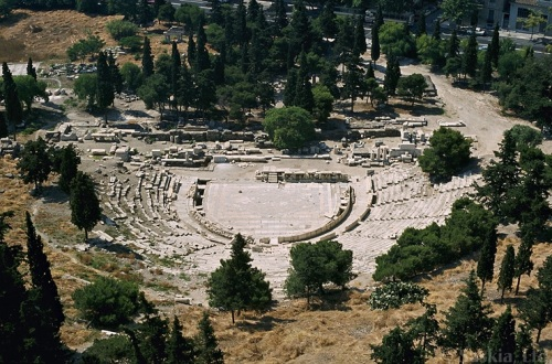 Greek Theatre Look 10 Interesting Greek Theatre Facts