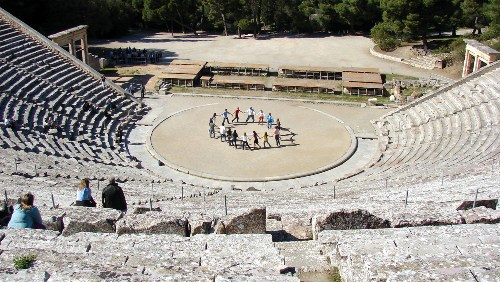 Greek Theatre Style