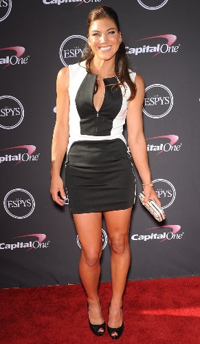 Hope Solo in Dress