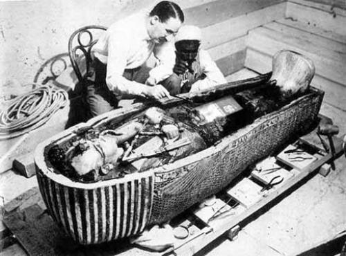 Howard Carter and Tomb