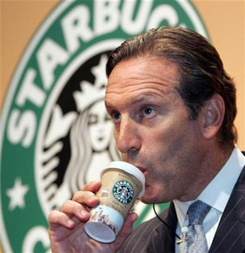 Howard Schultz Coffee