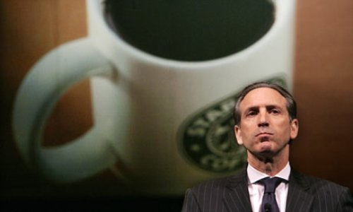 Howard Schultz facts